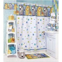 bath shower curtain kids