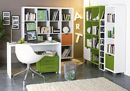 espacio hogar estanterias
