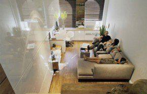Aprovechar los espacios de un hogar pequeño