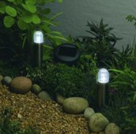 Iluminacion exterior luz solar - Iluminacion exterior jardin ...