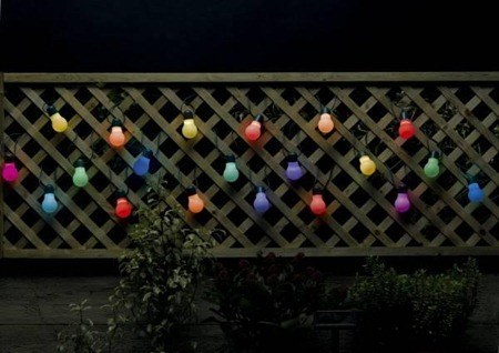 Iluminacion exterior luz solar - Iluminacion solar para jardin ...