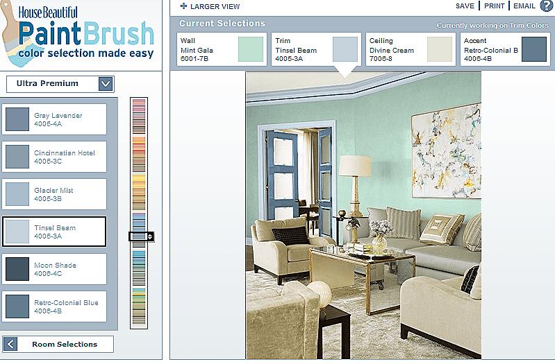 Simulador colores decoracion - Simulador pintar habitacion ...
