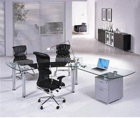 Escritorio moderno for Estilos de oficinas modernas