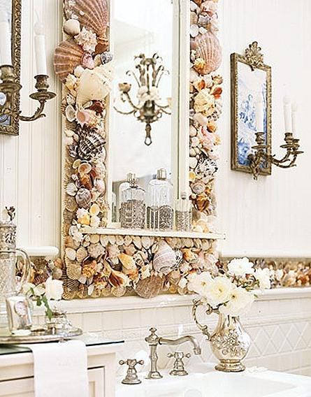 decoracion de interiores rusticos economicos:Espejos baño rustico – EspacioHogar.com
