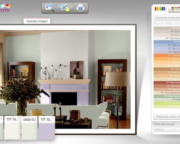 Simulador colores decoracion