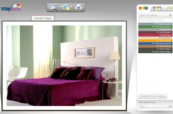 simulador-colores-decoracion-titanlux-decoración-simulada-dormitorio