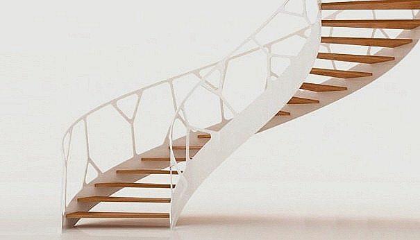Escaleras modernas   espaciohogar.com
