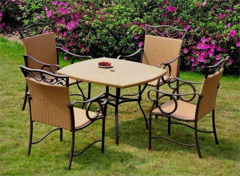 Muebles jardin rusticos for Juegos de jardin rusticos