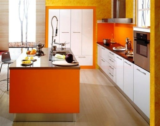 Decoraci n de interiores cocina est ndar for Decoracion interiores cocina
