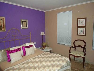 Pinturas y decoraci n c mo pintar el dormitorio - Pintura para habitacion de matrimonio ...