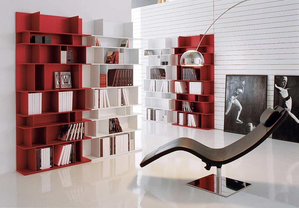 Estantería modular diseño italiano. Estantería modelo Wally ...