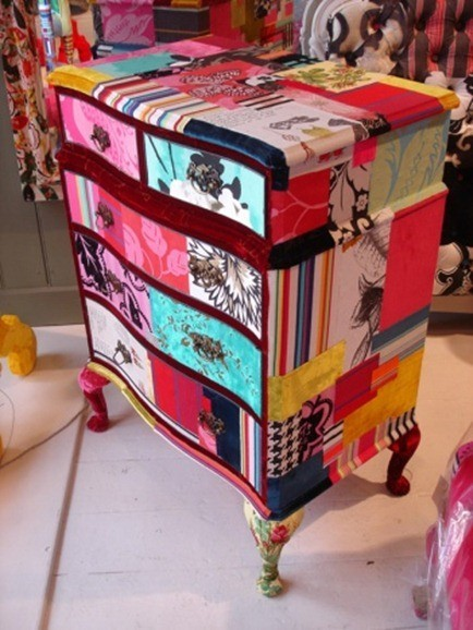 cabinet patchwork