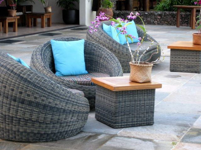 Chill out decoracion muebles de rafia
