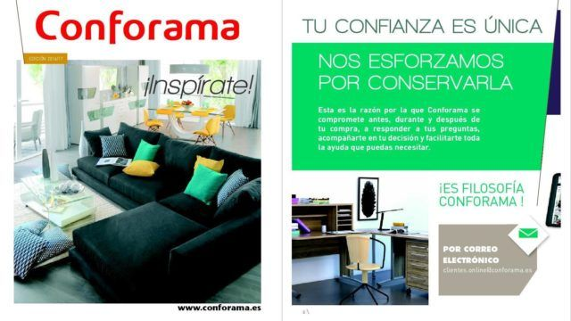 Conforama cat logo 2018 for Espejos conforama precios