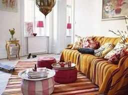 desire to inspire living room - moroccan inspiration