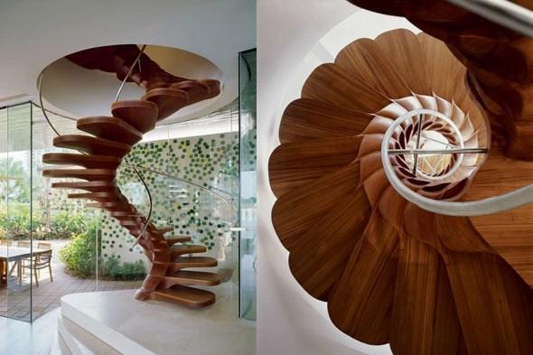 escalera desdoblada flowerjd