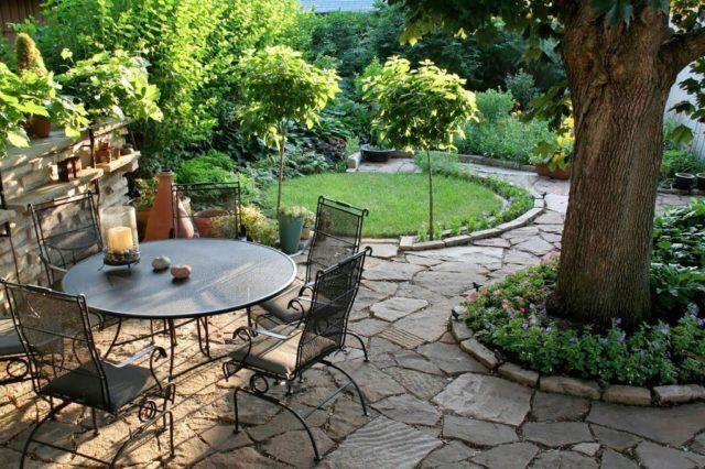 de 50 Fotos de jardines rústicos para decorar el patio