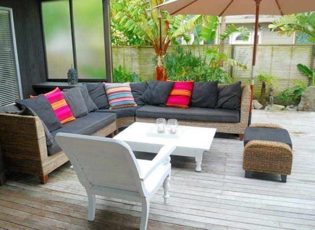 De 50 ideas creativas de jardines en terrazas for Ideas suelo terraza
