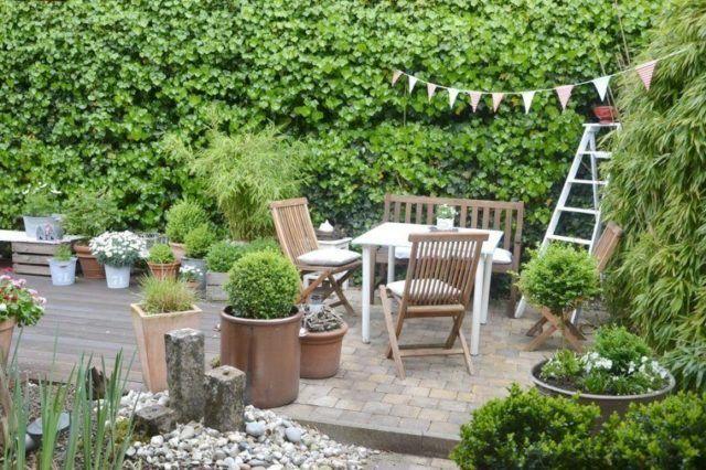 De 50 ideas creativas de jardines en terrazas for Muebles de terraza y jardin