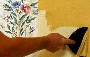 Cómo retirar el papel tapiz