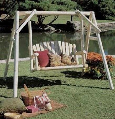 Muebles jardin rusticos - Balancines para jardin ...