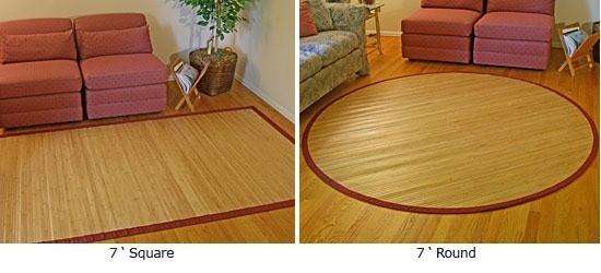Pon linda tu casa alfombras de bambu - Alfombra de bambu ...