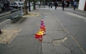 Decorando las calles de París