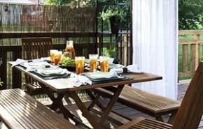 Convierte tu terraza en una sala de estar