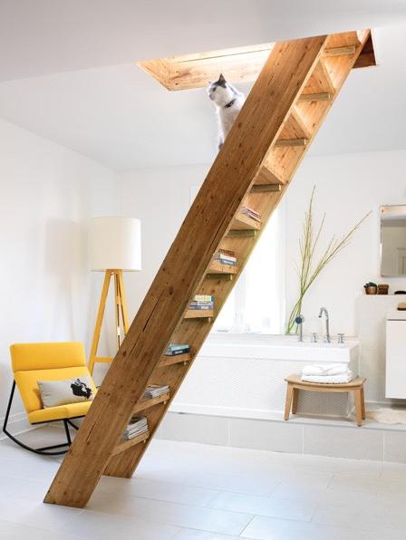 Escaleras rusticas - Tipos de escaleras ...