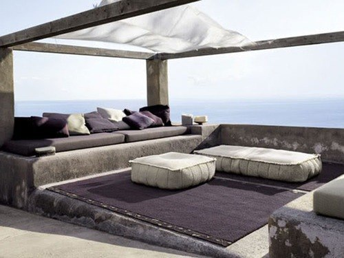 Decoraci n con muebles chill out para el verano for Muebles chill out exterior