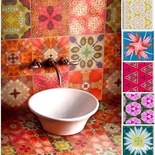 Azulejos Para Baño Recubre: donde la pared se recubre de arriba abajo con baldosas o azulejos