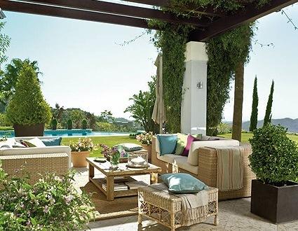 El comedor ideal para jard n o terraza decoraci n en for Comedor para jardin