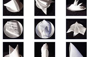 Doblar servilletas| paso a paso