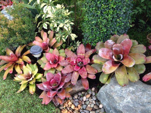Ideas para la decoracion con piedras rocalla colorido