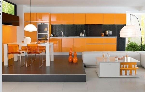 Mesa y sillas de cocina modernas   espaciohogar.com
