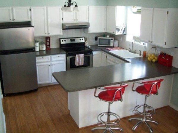 Mesa y sillas de cocina modernas - EspacioHogar.com