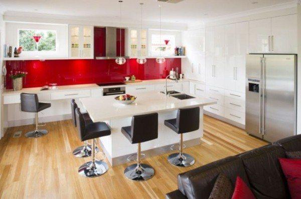 mesa-y-sillas-de-cocina-modernas-isla-de-cocina