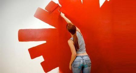 Pintura decorando interiores for Pinturas en paredes de casa