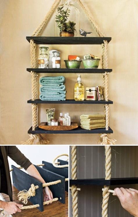 Repisas de madera c mo hacerlas y trucos - Donde se puede poner una casa de madera ...