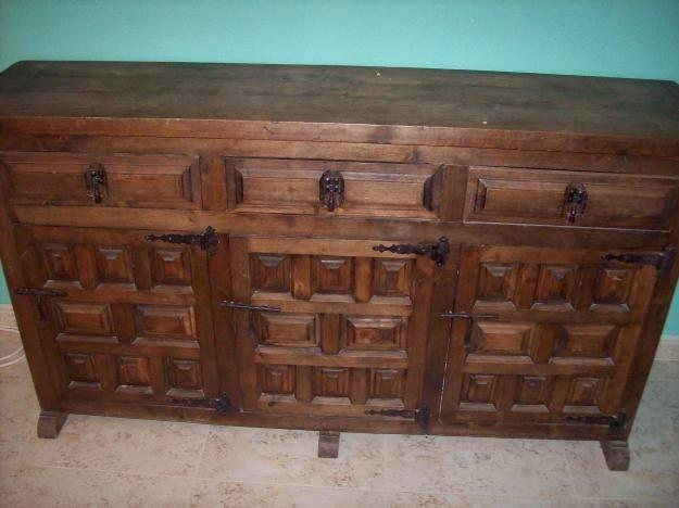 Estilo castellano for Puertas de madera estilo antiguo