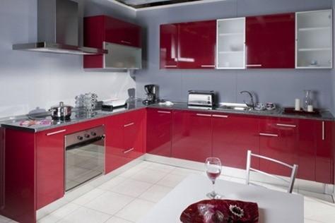 Casas cocinas mueble cocinas en modulos for Modulos cocina leroy