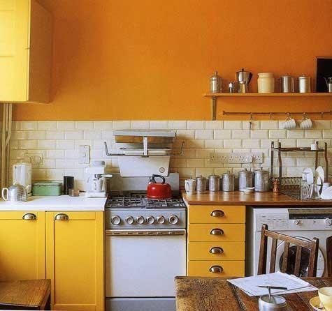 Colores de pintura para cocinas peque as - Pintura para cocinas ...