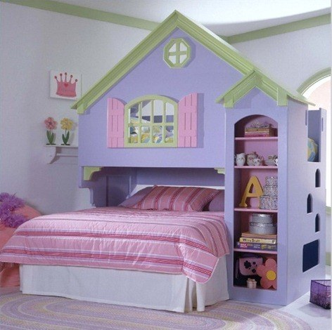 Doll-House-Twin-Size-Loft-Bed