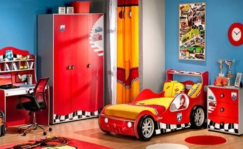 Race-Car-Kids-Bedroom-Furniture