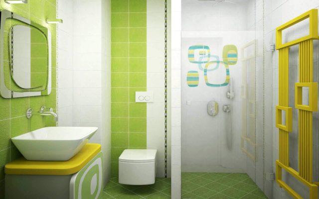 Colores para cuartos de ba o 2018 for Cuartos de bano verdes
