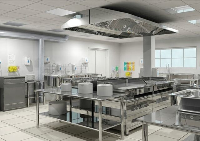 Consejos para limpiar acero inoxidable for Small commercial kitchen design ideas