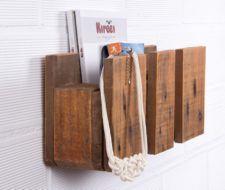 Cómo hacer estanterías de madera para libros con palets reciclados