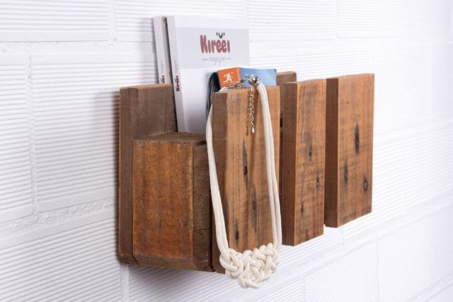 C mo hacer estanter as de madera para libros con palets for Libros de muebles de madera