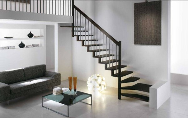 Escaleras modernas for Ideas para hacer escaleras interiores