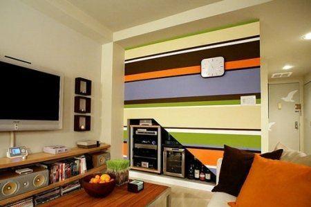 Ambientes peque os 5 reglas que s debemos romper - Ideas para pintar un piso ...